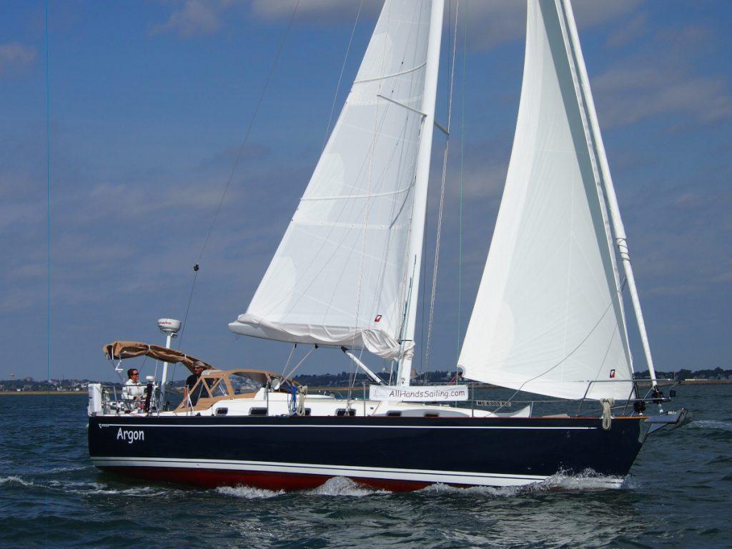 argon under sail