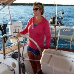capt linda perry riera sailing in the caribbean
